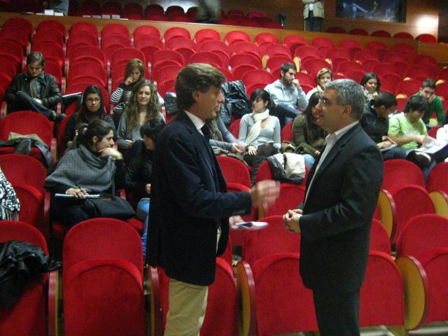 José María Tortosa inaugura unas jornadas sobre televisión - 2, Foto 2