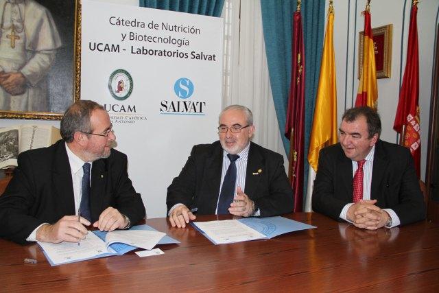 El director General de la empresa Salvat Biotech, Jordi Julve, ha disertado en la UCAM sobre biotecnología y alimentación - 1, Foto 1