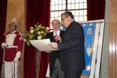 El Alcalde de Molina de Segura recibe la Distinción de Honor de la Real Academia de Medicina y Cirugía de Murcia