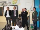 El Director de Promoción Educativa asegura en Archena que el nuevo colegio Miguel Medina estará en marcha antes de que finalice esta legislatura