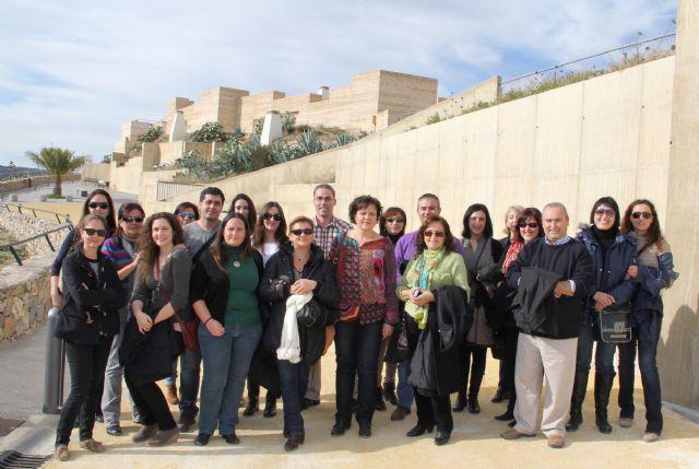 Técnicos de la Red de Oficinas de Turismo de la Región de Murcia conocen el nuevo proyecto turístico ´Medina Nogalte´ de Puerto Lumbreras - 1, Foto 1