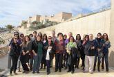 Técnicos de la Red de Oficinas de Turismo de la Región de Murcia conocen el nuevo proyecto turístico ´Medina Nogalte´ de Puerto Lumbreras