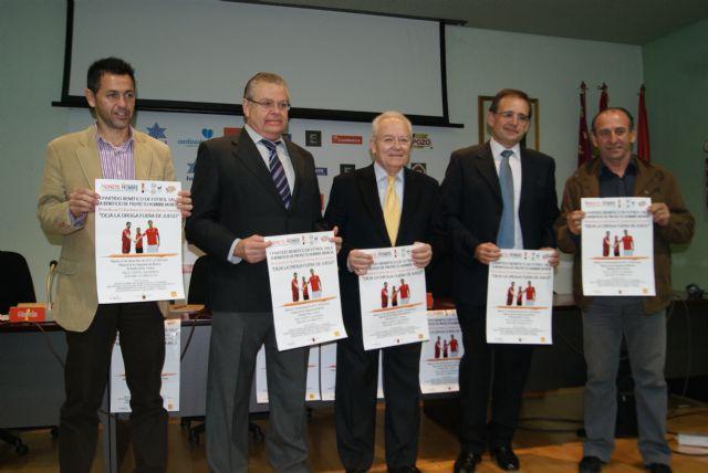 ElPozo Murcia, Real Murcia, Féminas Murcia y famosos participan en el I Partido de Fútbol Sala a beneficio de Proyecto Hombre Murcia - 2, Foto 2