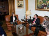 El Director de Administración Local se entrevista con la Alcaldesa en Archena para tratar obras urgentes y otros proyectos de construcción