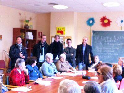 La Alcaldesa de Archena visita la Residencia Nuevo Azahar de Fundación Diagrama, ubicada en Archena - 1, Foto 1