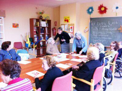 La Alcaldesa de Archena visita la Residencia Nuevo Azahar de Fundación Diagrama, ubicada en Archena - 2, Foto 2