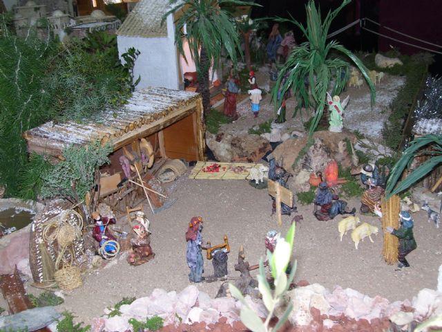 Gebas inicia los actos navideños con la inauguración de su belén, Foto 1