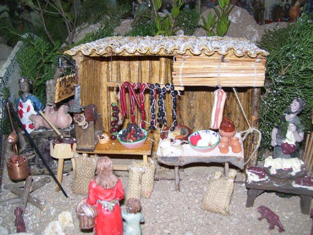 Gebas inicia los actos navideños con la inauguración de su belén, Foto 2