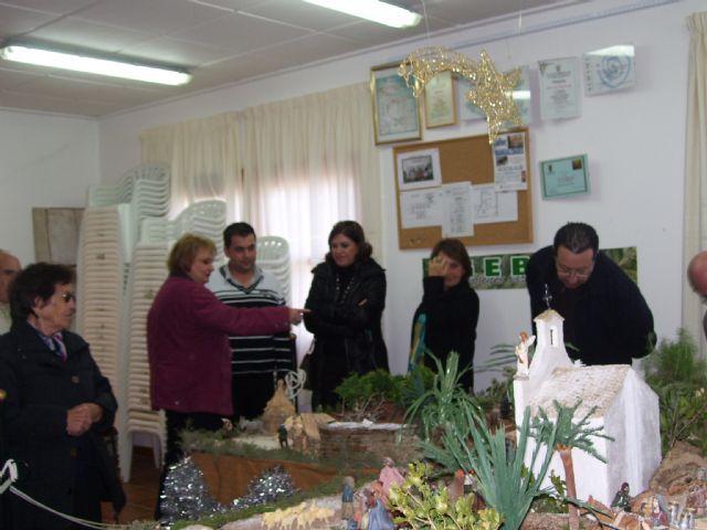 Gebas inicia los actos navideños con la inauguración de su belén, Foto 3