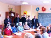 La Alcaldesa de Archena visita la Residencia Nuevo Azahar de Fundación Diagrama, ubicada en Archena