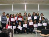 Mujer clausura cuatro cursos que han formado a cerca de 70 mujeres