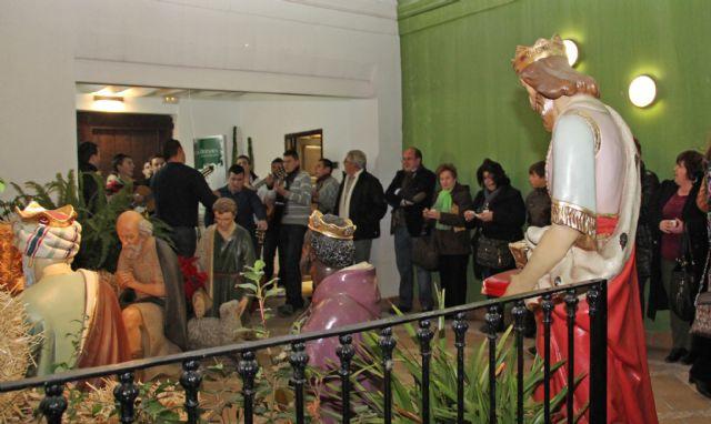 Inaugurado el Belén Municipal y la exposición de Nacimientos Artesanales que se expone en el Centro Cultural ´Casa de los Duendes´ durante toda la Navidad - 2, Foto 2
