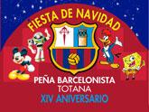 La Peña Barcelonista de Totana invita a todos los niños a la fiesta de Navidad 2011