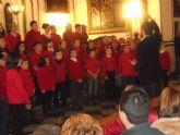 El coro escolar del CEIP 'Santa Eulalia' protagoniza un extraordinario concierto de Navidad, con un magnífico repertorio