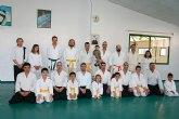 El Club de Aikido lleva a cabo una jornada de puertas abiertas en la que dos alumnos de la escuela infantil se examinaron de cinto amarillo