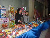 La alcaldesa de Totana felicita a los comerciantes de la Avenida de Lorca por su excelente iniciativa y dinamizar el comercio local en Navidad