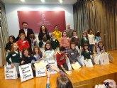 Obras Públicas premia a cuatro alumnos del CEIP LUIS PEREZ RUEDA