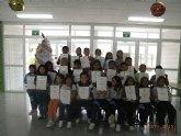 Entrega de certificados de Trinity College a los alumnos del CEIP Luis Perez Eueda