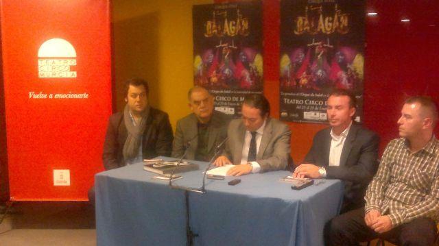 El arte circense de Balagan llega al Teatro Circo Murcia del 25 al 29 de enero de 2012 - 1, Foto 1