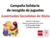 Juventudes Socialistas de Mula organiza una Campaña Solidaria de recogida de juguetes