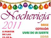 El Centro Municipal de Personas Mayores de la Balsa Vieja celebra con una fiesta la entrada del año 2012
