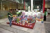 Crece la montaña de juguetes de San Miguel