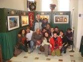Los usuarios del Servicio de Apoyo Psicosocial visitan el Belén Municipal y otras muestras belenísticas de Totana