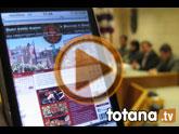 La alcaldesa atribuye la concesión del Interés Turístico Regional a la Semana Santa de Totana al loable trabajo realizado por las 17 hermandades y cofradías