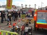 Protección Civil desarrolla sus I Jornadas didácticas junto a Bomberos y Cruz Roja