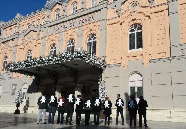 Juventudes Socialistas de Murcia reclama de nuevo la apertura del Teatro Romea - 1, Foto 1