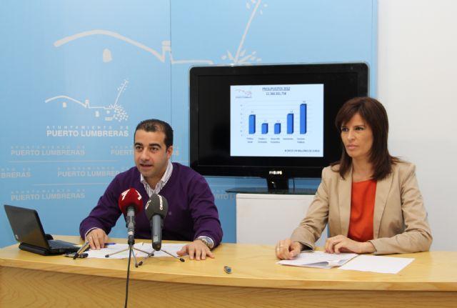 Los presupuestos municipales 2012 de Puerto Lumbreras priorizan la creación de empleo y las políticas sociales - 1, Foto 1