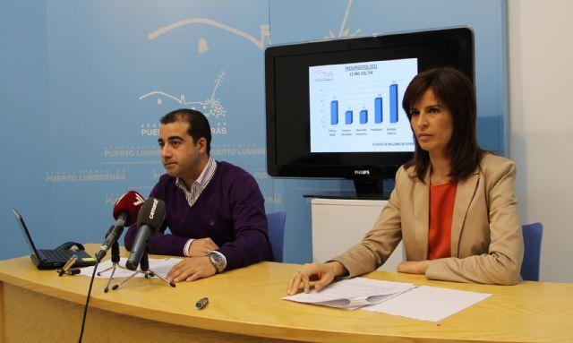 Los presupuestos municipales 2012 de Puerto Lumbreras priorizan la creación de empleo y las políticas sociales - 2, Foto 2