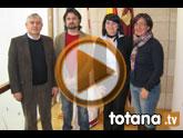 La alcaldesa y los grupos políticos municipales abogan por la normalización política e institucional de Totana