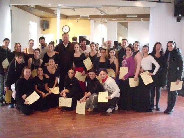 Clausurado el congreso universitario de baile flamenco - 1, Foto 1