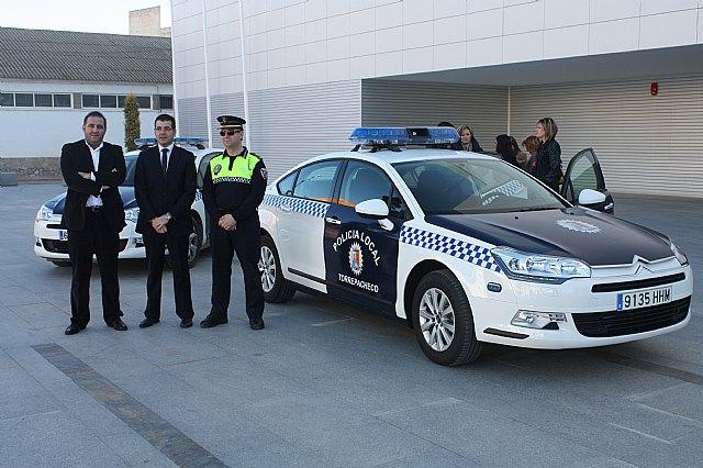 Presentado el nuevo coche de la Policía Local de Torre-Pacheco - 1, Foto 1