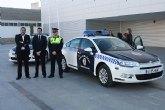 Presentado el nuevo coche de la Policía Local de Torre-Pacheco