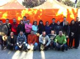 Se entregan los carnets del 2012 a los miembros de la Agrupación de Voluntarios de Protección Civil en Totana