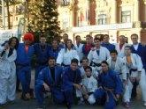 Otro año más, los judokas del Ciudad de Murcia despiden al año corriendo la San Silvestre