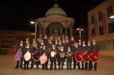 La banda de cornetas y tambores del Ilustre Cabildo concluye sus actuaciones con la entrega de la carta a sus majestades los Magos de Oriente