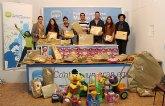 Jóvenes del PP de Puerto Lumbreras reparten juguetes en más de un centenar de familias desfavorecidas