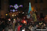 M�s de 300 personas componen la cabalgata de Reyes Magos que recorre las calles de Totana esta tarde