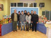 NNGG de Archena colabora con la campaña 'Despensa Solidaria'