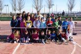 El municipio de Puerto Lumbreras ha celebrado el III Torneo de Reyes de la Escuela Municipal de Tenis