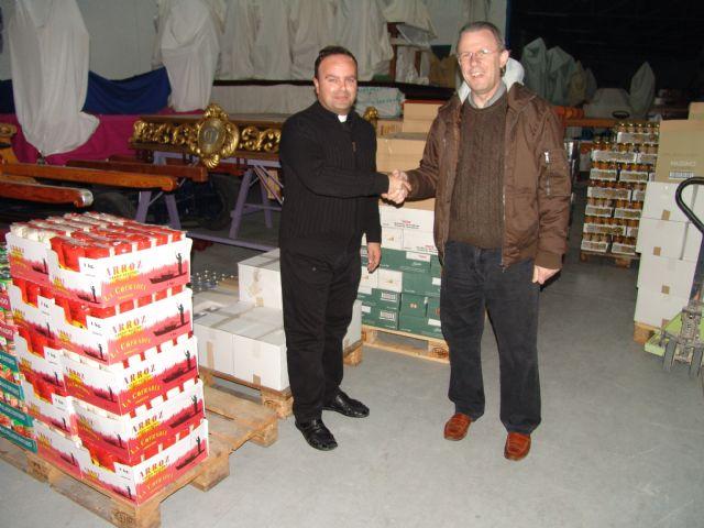 El Cabildo Superior de Cofradias de Archena recoge 9.544 kilos de alimentos con su III campaña Despensa Soldaria - 1, Foto 1