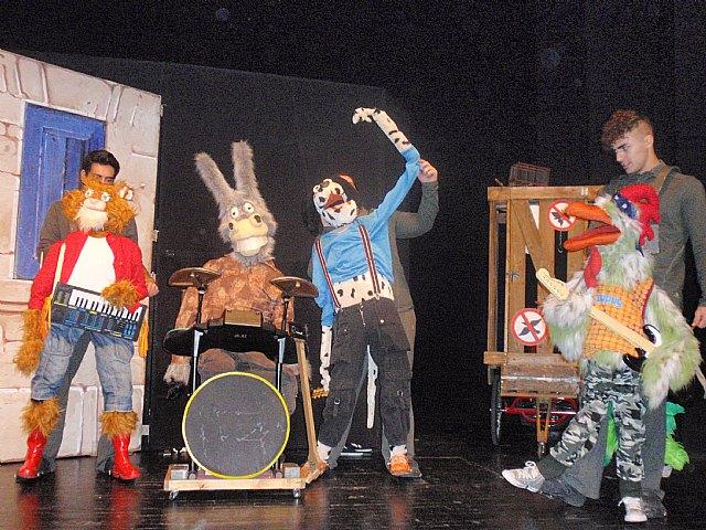 "The show ""The Bremen town musicians"" reaches Totana"