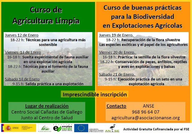 El Centro Social de Cañada de Gallego acoge dos cursos sobre agricultura limpia y biodiversidad - 3, Foto 3