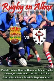 The Rugby Club Totana face this Sunday at Rugby Albox