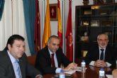 El presidente de la Federación Española de Baloncesto visita la UCAM