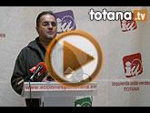 Rueda de prensa IU-verdes Totana 13/01/2012