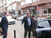 El Delegado del Gobierno comienza sus visitas oficiales por La Unión